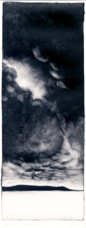 Title: Coast; Monotype; Size - 40x30cm inc frame; Price - £130